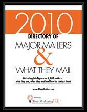 2010 Directory of Major Mailers and What They Mail
