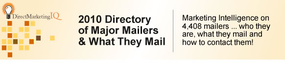 2010 Directory of Major Mailers