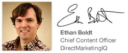 Ethan Boldt, Chief Content Officer, DirectMarketing IQ